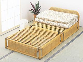 籐ベッド(スノコタイプ)