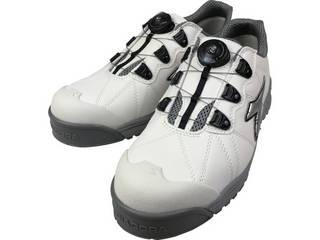 DONKEL/ドンケル DIADORA/ディアドラ 安全作業靴 フィンチ 白/銀/白 25.5cm FC181-255