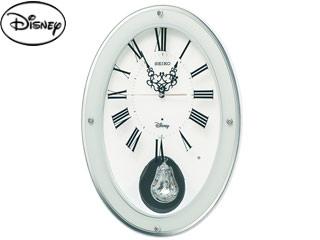 SEIKO/セイコークロック FS508W 電波掛け時計【ディズニー】 メロディ/飾り振り子/おやすみ秒針
