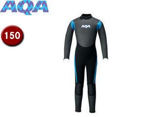 AQA/アクア KW4507A-6615 キッズスキンフルスーツIII 【150】 (ブラック×ブルー)