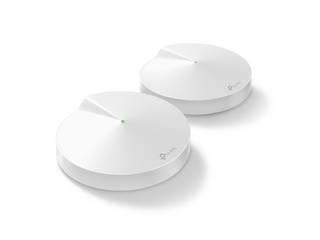 ・初期設定はとても簡単/保護者による制限 TP-Link Deco M9 Plus wifiルーター Deco M9 Plus (2台パック) ホワイト ・スマートホームハブも内蔵されており、 設定を調整し、1つのプラットフォームからインタラクションを作成します。 ・他のDecoモデルと混在可能(IOT