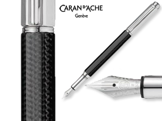 CARAN dACHE/カランダッシュ 【Varius/バリアス】カーボン3000 万年筆 OM 4490-987