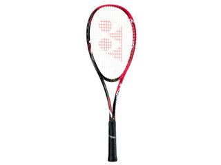 YONEX/ヨネックス ソフトテニスラケット NANOFORCE 8V REV(ナノフォース 8Vレブ)フレームのみ UL1フレイムレッド NF8VR-596