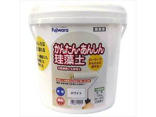 Fujiwara/フジワラ化学 かんたん・あんしん珪藻土 ホワイト 10kg