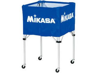 MIKASA/ミカサ 器具 ボールカゴ 箱型・大(フレーム・幕体・キャリーケース3点セット) ブルー BCSPH-BL