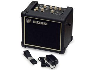 SUZUKI/スズキ SPA-03 多目的アンプ(SPA03) わかりやすい日本語表示の電気大正琴用スピーカー 【ハーモニカ・メロディオン・その他楽器用アンプスピーカーとしても使用可能】