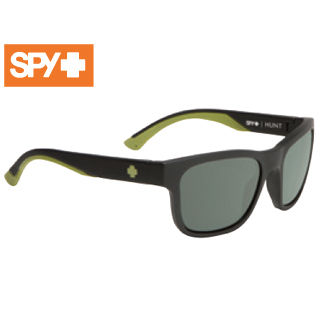 SPY/スパイ 673469713864 HUNT [フレーム:MATTE BLACK OLIVE] (レンズ:Happy Gray Green Polar)