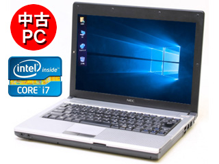 NEC 【中古】WPS Office付き インテル Core i7搭載12.1型ノートPC PC-VK17HBBCE 【官公庁、大学、高等専門学校、法人様、中小企業様歓迎】 ★納品書、領収書等発行できます!
