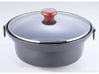 アルミ合金ガラス蓋しゃぶ鍋
