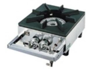 ※こちらはLPガス専用になります。 YAMAOKA/山岡金属工業 ガステーブルコンロ用兼用レンジ/S-1220 LPガス