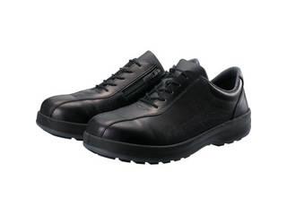 Simon/シモン 耐滑・軽量3層底安全短靴8512黒C付 24.0cm 8512C-240