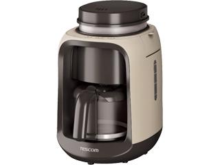 TESCOM/テスコム TCM501(C) 全自動コーヒーメーカー コンフォートベージュ