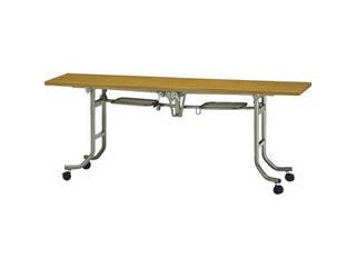 TRUSCO/トラスコ中山 【代引不可】フライトテーブル 1800×750×H700 チーク FLT-1875T