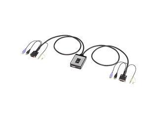 サンワサプライ ディスプレイエミュレーション対応DVIパソコン自動切替器(2:1) SW-KVM2DUN