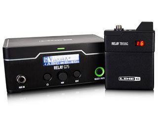 LINE6/ラインシックス RELAY G75 ギターワイヤレス 【高性能ワイヤレス】 【国内正規品】【新品】 【RPS160328】