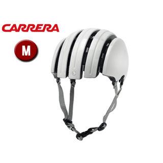 CARRERA/カレラ FOLDABLE BASIC シティバイクヘルメット 【Mサイズ(S/M)】 (Shiny White)