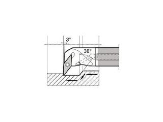 独特の素材 KYOCERA/京セラ 内径加工用ホルダ E12Q-SVUCR08-18A, ヌカタチョウ 11f8e325