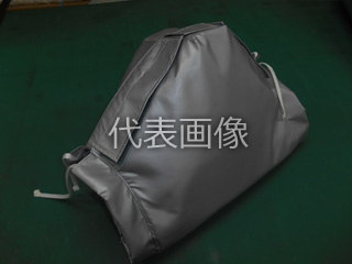 Matex/ジャパンマテックス 【MacThermoCover】チャッキバルブ 断熱ジャケット(ガラスニードルマット 25t) 10K-50A