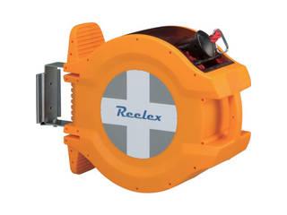 CHUHATSU/中発販売 Reelex バリアロープリール(赤色ロープ20m) BRR-1220R