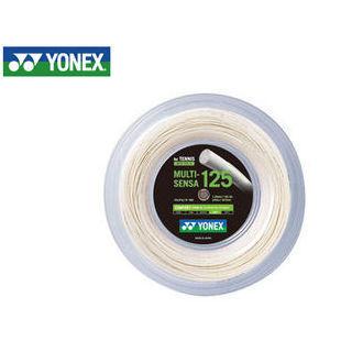 YONEX/ヨネックス MTG1252-11 硬式テニスストリング MULTI-SENSA125 ロール240m/マルチセンサ125 ロール240m (ホワイト)