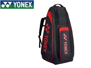 YONEX/ヨネックス BAG1819-187 スタンドバッグ リュック付 テニスラケット2本用 (ブラック×レッド)
