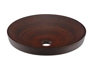 KAKUDAI/カクダイ 493-014-M 丸型洗面器 窯肌