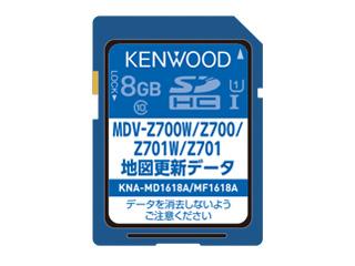 KENWOOD/ケンウッド KNA-MD1618A 地図更新SDカード