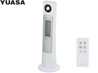 YUASA/ユアサプライムス YSL-S122YH(W) 加湿器付きセラミックヒーター ホワイト リモコン付き