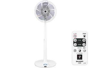 【nightsale】 【台数限定!ご購入はお早めに!】 SHARP/シャープ 【オススメ】PJ-H3DS-W DCモーターハイプジション扇風 (ホワイト系)