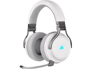 CORSAIR/コルセア ワイヤレスゲーミングヘッドセット VIRTUOSO RGB WIRELESS -White- CA-9011186-AP ホワイト