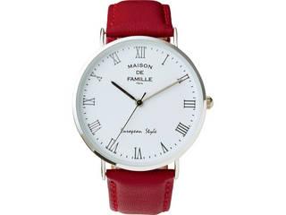 MAISON DE メゾン・ドゥ・ファミーユ レディース腕時計 レッド MA-103LR