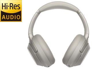 SONY/ソニー ワイヤレスノイズキャンセリングステレオヘッドセット プラチナシルバー WH-1000XM3S
