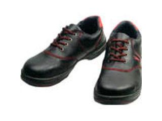Simon/シモン 安全靴 短靴 SL11-R黒/赤 25.0cm SL11R-25.0