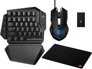 GameSir/ゲームサー 【ゲーミングマウスパッド付き】ゲーミングキーボード・マウスセット GameSir VX AimSwitch Combo