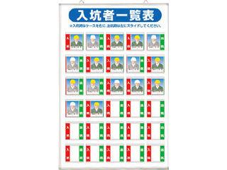 TSUKUSHI/つくし工房 標識 「入坑者一覧表 30人用」 134-A