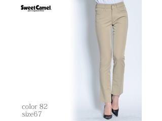 Sweet Camel/スイートキャメル キュプラ/テーパードストレート【82=カーキ/サイズ67】(SA9352)