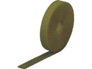 TRUSCO/トラスコ中山 マジック結束テープ 両面 オリーブドラブ 40mm×25m MKT-40250-OD
