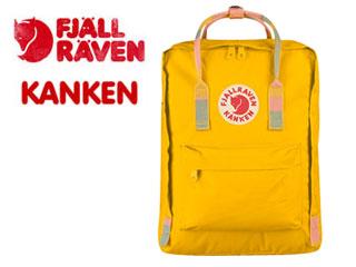 FJALL RAVEN/フェールラーベン 23510-141-905 KANKEN/カンケン 【16L】 (Warm Yellow/Random Blocked) 【リュック】【デイパック】【2WAY】【北欧】【スウェーデン王室御用達ブランド】