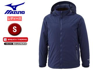 mizuno/ミズノ A2JE6716-14 ブレスサーモ シェルジャケット レディース 【S】 (トワイライトブルー)