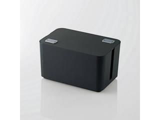 エレコム 5個セット エレコム ケーブルボックス(4個口) EKC-BOX002BKX5