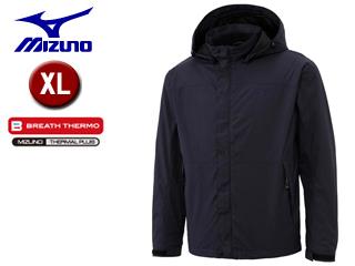 mizuno/ミズノ A2JE6516-14 ブレスサーモ サーモシェル ジャケット 【XL】 (ディープネイビー)