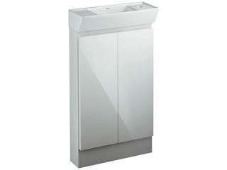 KAKUDAI/カクダイ 200-311 角型手洗器 (キャビネットつき)
