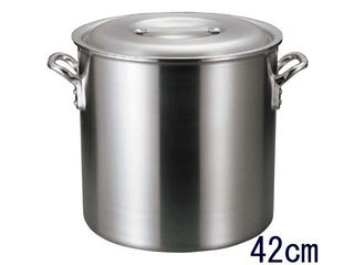 EBM アルミ バリックス 寸胴鍋(磨き仕上げ)42