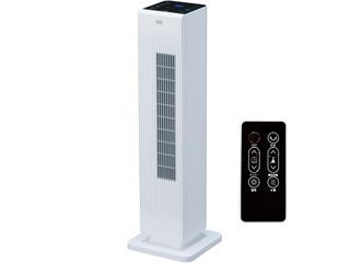 YUASA/ユアサプライムス YSL-HC1200VR(W) ホワイト ホットアンドクール タワー型 セラミックファンヒーター 1200W/800W