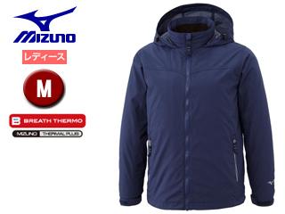 mizuno/ミズノ A2JE6716-14 ブレスサーモ シェルジャケット レディース 【M】 (トワイライトブルー)