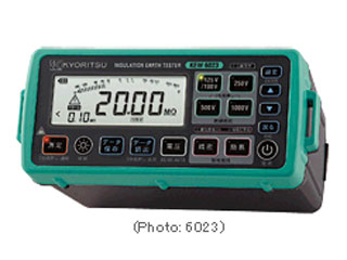 KYORITSU/共立電気計器 デジタル絶縁・接地抵抗計 6022