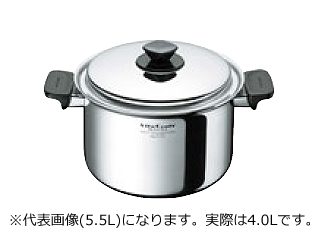 ビタクラフト ★★★ヘキサプライ 深型両手鍋 4.0L 6125