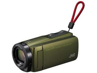 【お得な64GB SDXCカードセットもあります!】 JVC/Victor/ビクター GZ-R470-G(カーキ)  Everio R/エブリオ ハイビジョンメモリームービー