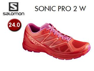 SALOMON/サロモン L39339200 SONIC PRO 2 W ランニングシューズ ウィメンズ 【24.0】