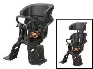 OGK/オージーケー FBC-011DX3 フロント チャイルドシート ヘッドレスト付コンフォート (ブラック/ブラック)